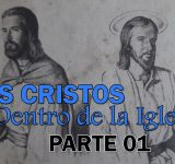 Dos Cristos dentro de la iglesia