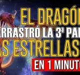 ¿Qué significa que el dragón arrastró la tercera parte de las estrellas del cielo?