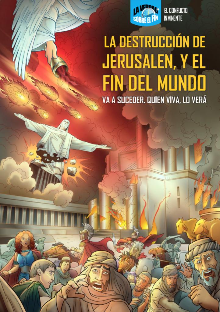 La destrucción de Jerusalen cómic